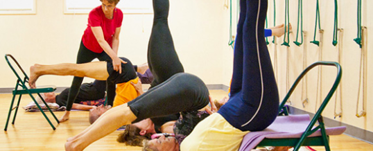Blog north shore yoga for Chaise yoga iyengar